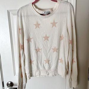 Never Worn Wildfox Star Design Sweatshirt